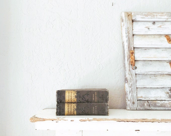 Vintage Book Collection // Office Decor
