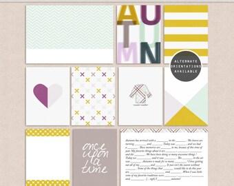 Autumn Storyteller - Project Life - Journal Cards