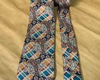 LANVIN Paris Made In France Silk Necktie