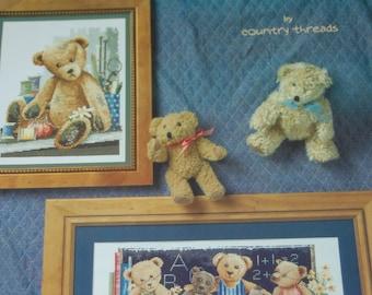 THREAD BEAR TEDDIES - Cross Stitch Patterns