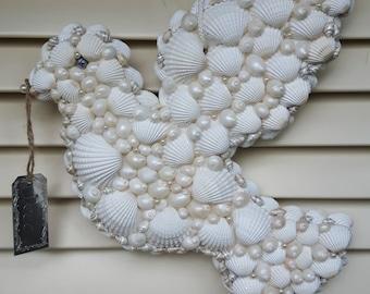 White Dove of shells