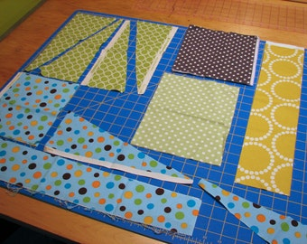 DESTASH-Polka Dot Scrap pack