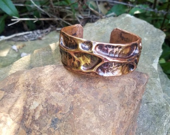 Air Chasing Copper Bracelet,Hand Hammered Bracelet,Cuff Bracelet, Copper Cuff, Copper Bracelet Women, Copper Bracelet, Copper Pipe Bracelet