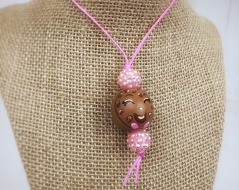 Cookie necklace, shopkins