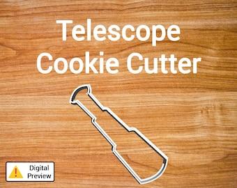 """4"""" Telescope Cookie Cutter (Pirate Set)"""