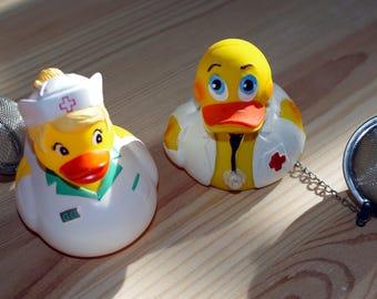 Duck tea ball doctor or nurse