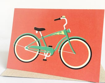 Bicycle Greeting Card | For You Card | Just Because Card | Card for her | Card for friend | Bike Card | Card for him | Card for Husband