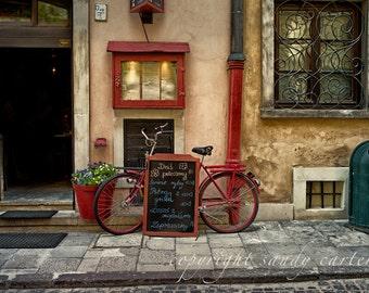 Krakow Street  Scene - A Fine Art Photograph