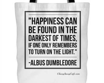 Harry Potter Dumbledore Quote Tote