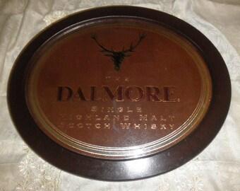 Bar Mirror The Dalmore Highland Malt Scotch Whisky ready to Hang