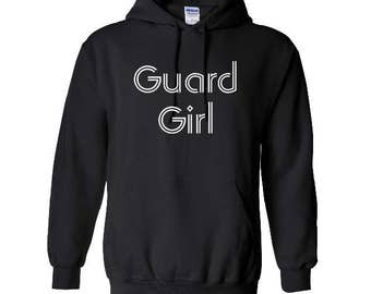 Guard Girl - Guard Hoodie - includes personalization