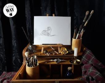 ORIGINAL ART - Otter Study