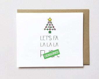 Naughty Christmas card, Funny Christmas card, Adult Christmas card, Dirty Christmas card, Funny xmas card, Naughty Christmas card for him
