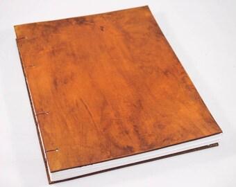 Leather Coptic Stitch Sketchbook