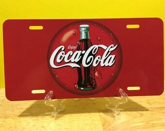 COCA COLA / COKE  License Plate