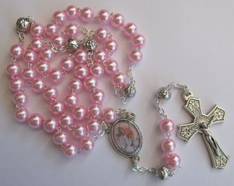 First Holy Communion Rosary (Girls)
