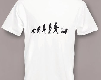 Evolution to Beagle t-shirt Funny Dog T-shirt sizes S TO 2XXL