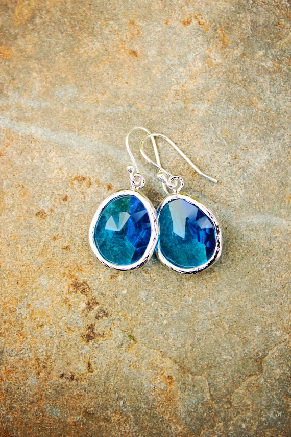 and inspired dichroic glass grande earrings products fused blue product transparent image orange