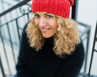 """Hat """"Russian Red"""""""