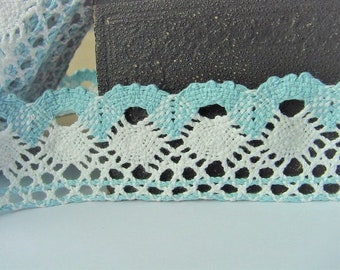 Cotton Crochet Lace For Lingerie Lamp Shades Dolls clothing's Costume Design Scrapbooking Sewing Embellishing Nautical Wedding Organic Trim