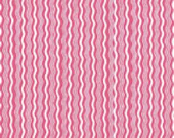 Riley Blake Designs Hipster Crimp Hot Pink  by RBD Desingers C522-07