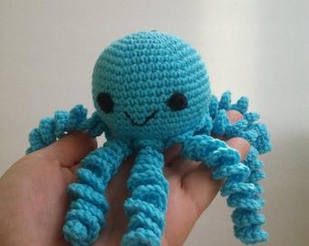 Crochet octopus, Octopus crochet, Baby Shower Gift, Preemie octopus, Baby Gift, Octopus Toy, Octopus Baby Toy, Octopus for baby, Baby Toy