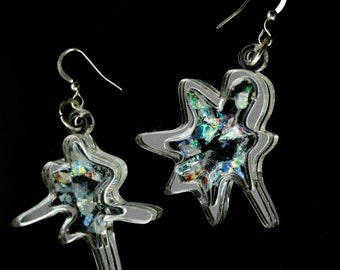 PANIKA Cosmic Blot earrings