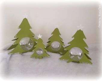 Christmas wrapping Christmas tree for ball transparent - packaging decoration for Christmas and holiday season - institueurs