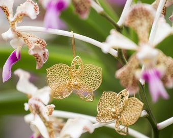 Wild Orchids on Filigree