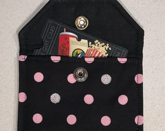 Gift Card Holder, Envelope with Snap Closure - In Stock - Ready to Ship