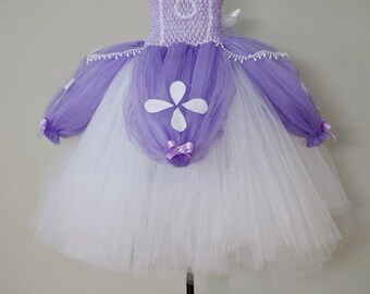 The  ORIGINAL- Deluxe Sofia The First Tutu Dress Costume
