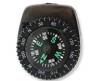 Pepperell Parachute Cord Survival Accessory-Clip-On Compass PCSA07