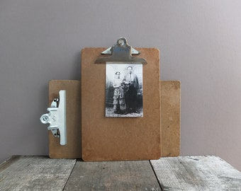 Vintage Clipboards - Set of 2 / Masonite Clipboards