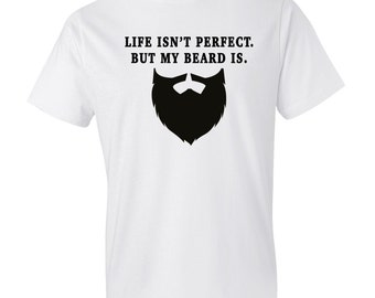 Gifts for Him, Husband Gift Boyfriend Gift Perfect Beard Shirt Funny Beard Shirt Awesome Beard Shirt Gift for Him Dad Shirt Gift #OS249