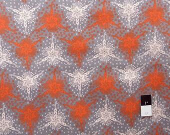 Anna Maria Horner AH42 LouLouThi TriFlora Silver Cotton Fabric 1 Yard