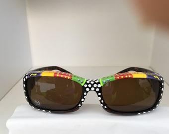 "Talavera Southwestern Style,Polarized Fit over ""Solar Shields"" Sunglasses"