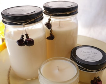 Herbal Tea Scented Soy Candle 4oz