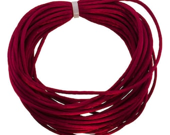 Rattail 1mm WINE 10yd Coil  (CD8030)