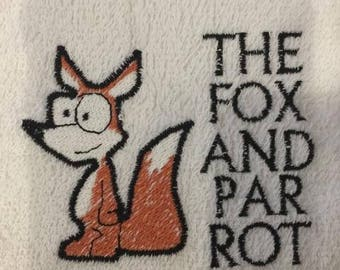 Fox bar towel