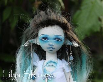 fairy doll elf doll textile doll interior doll fabric doll portrait doll cloth текстильная кукла selfie doll portrait doll custom portrait