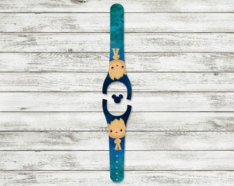 Tree Superhero MagicBand Decal | MagicBand 2.0 Skin | RTS Ready To Ship | Fits Both Adult & Child Bands