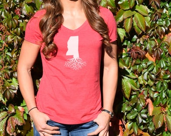 Women's Mississippi Roots Shirt