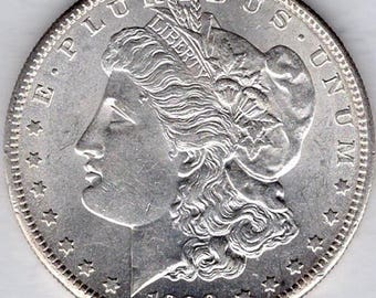 Uncirculated 1890-S Morgan Silver Dollar (M90S)