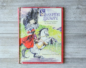 Sleeping Beauty adapted from Grimm by Joseph Mellon | Illustrated by Paul Frame | 1979 | Dandelion Press | Used Condition