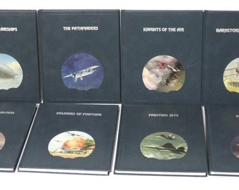 Lot of 8 Time Life Books - The Epic of Flight