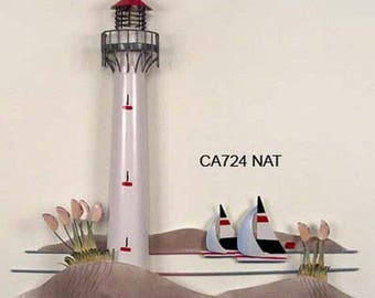 Lighthouse Metal Wall Art CA724NAT