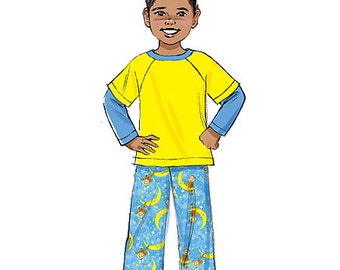 Butterick Pattern B6278 Children's/Boys' Top, Shorts and Pants