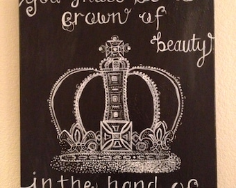 You Shall Be a Crown of Beauty