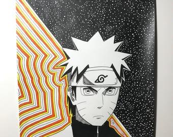 Naruto Art - Anime Art - Boruto Art - Naruto Shippuden - Sasuke Uchiha - Boruto Next Generations
