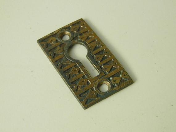 & Eastlake Keyhole Vintage Keyhole Plate Antique Key Plate
